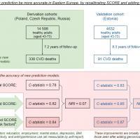 Social Factors and CHD risk prediction
