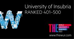 World University Rankings Insubria